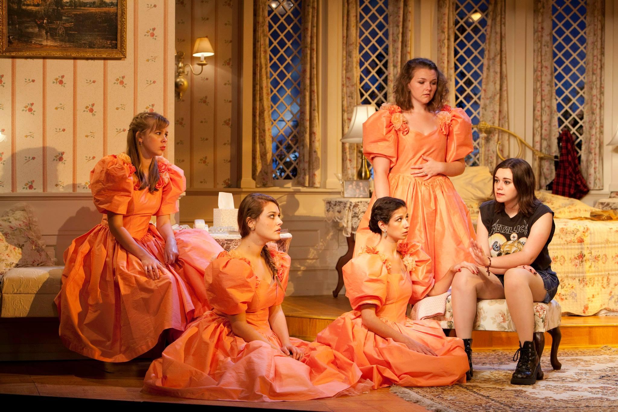 Five Women Wearing the Same Dress Photo 05
