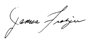 James Frazier Signature