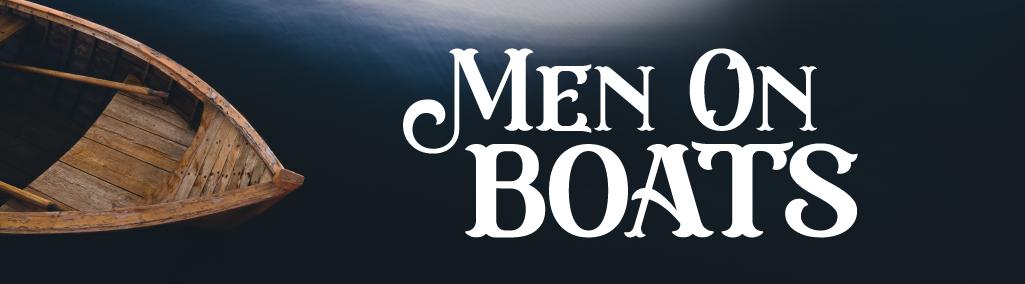 Men On Boats Show Art