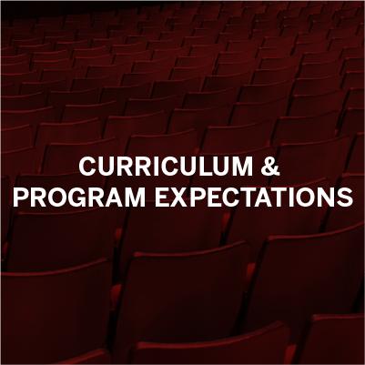 Curriculum & Program Expectations
